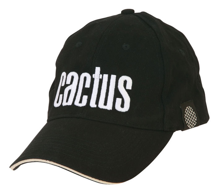Бейсболка Cactus (CACTUS_HAT_BLACK) cotton black (упак.:1шт)