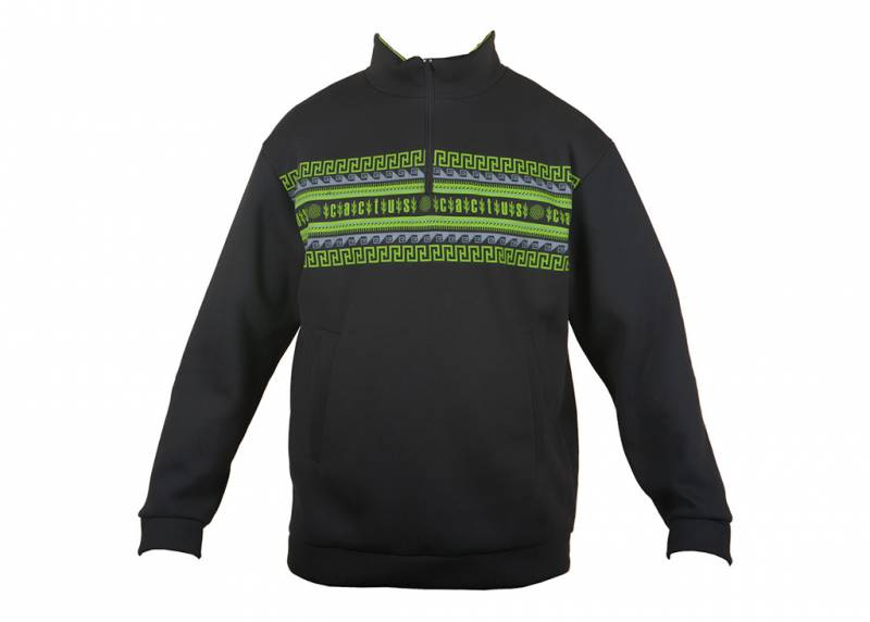 Толстовка Cactus (CACTUS _TOLSTOVKA/XL) male XL fleece black (упак.:1шт)