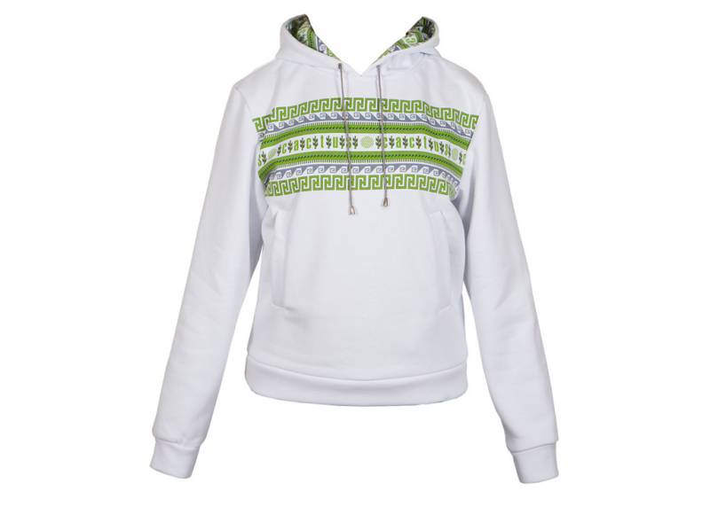 Толстовка Cactus (CACTUS _WHITE_L) female L fleece white (упак.:1шт)